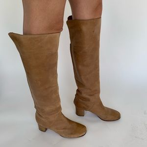 Over the Knee boots from Anthropologie